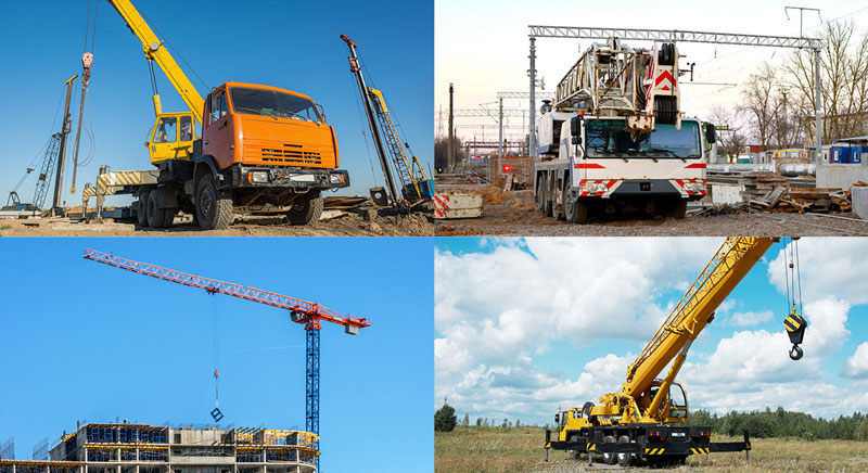 Most Common Cranes Used in Construction