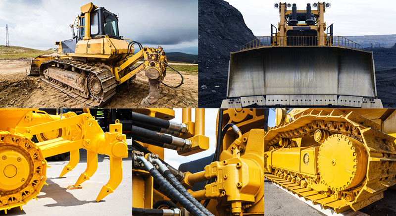 The Different Parts of Bulldozers