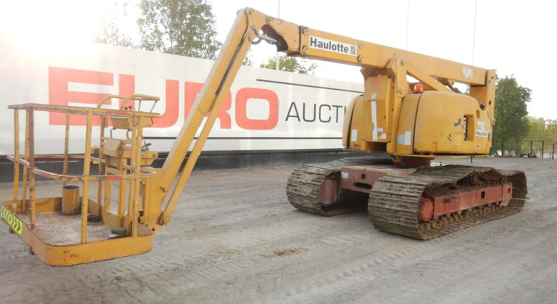 Upcoming Dubai Auction hosted by Euro Auctions now listed on PlantAndEquipment.com - July 6, 2020.