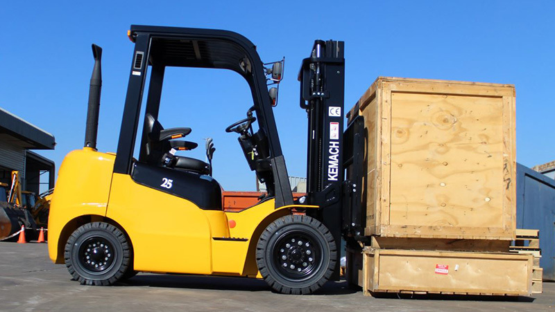 Kemach Unveils New Forklift Range | Plant & Equipment