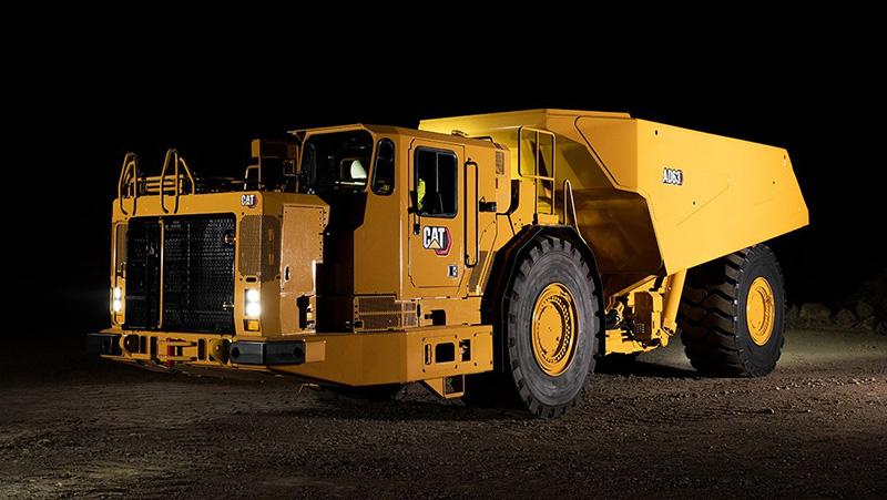 卡特彼勒 AD63地下铰接式卡车新车型将于2020年末上市