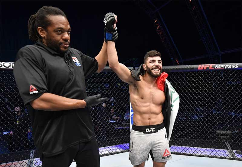 P&E is the Proud Sponsor of UFC Fighter - Amir Albazi - 1
