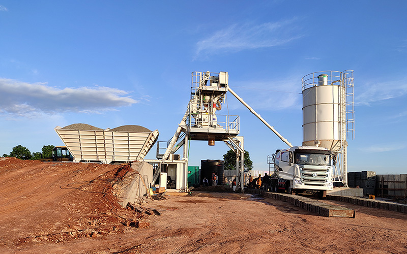 Ammann Receives Order For Concrete Mixing Plant In Kenya