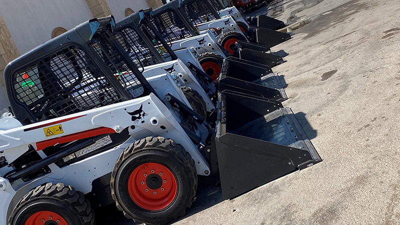 Egyptian Government Buys 22 New Bobcat Loaders