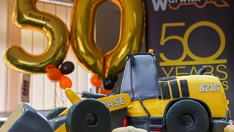 CASE Dealer Warwick Ward Celebrates 50th Anniversary