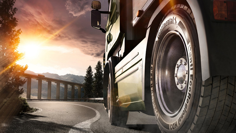 New Truck Tire Line Cuts Mileage Costs And Reduces CO2 Emissions