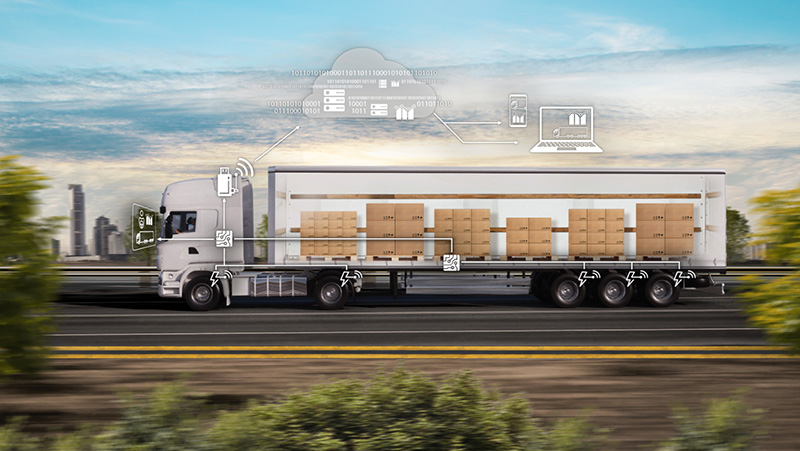 Continental develops a sensor-based Digital Load Monitoring for Commercial Vehicles.