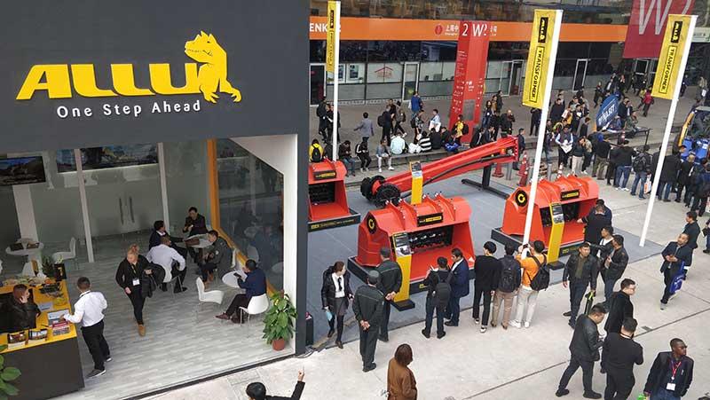 ALLU Exhibiting At bauma China 2020
