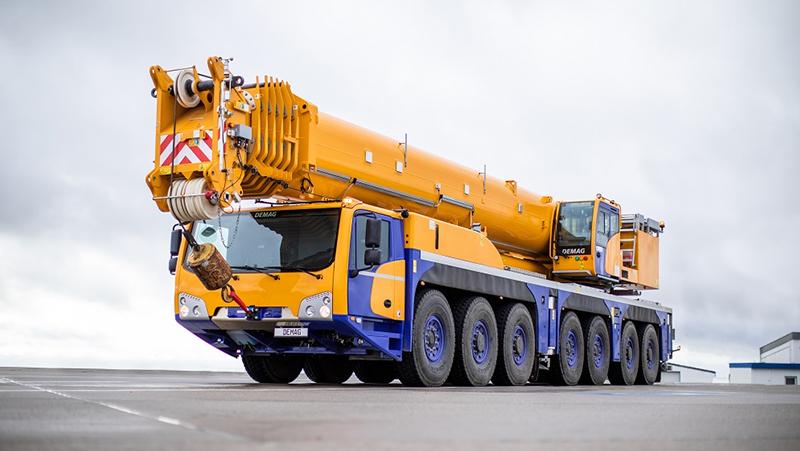 The New Demag AC 450-7 All Terrain Crane