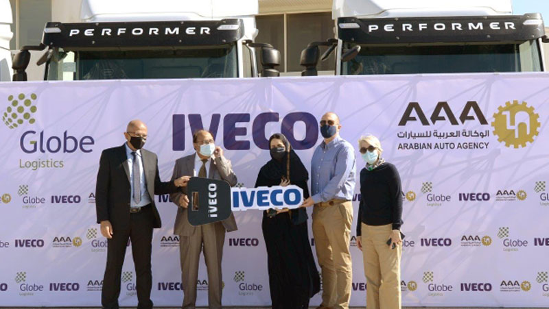 Arabian Auto Agency And Globe Marine Services Co Has Strengthen Their Professional Partnership Using Iveco Trucks