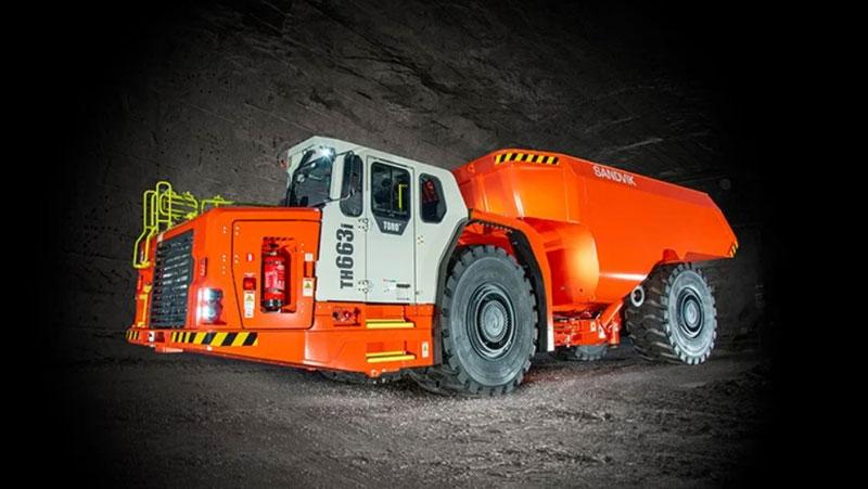 Sandvik Introduces A 16-Liter Stage V Engine For Its Largest Truck Toro TH663i