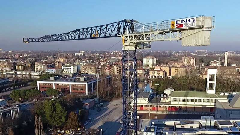 ENG Cranes produces a standard range of cranes along with customised cranes according to customer request.
