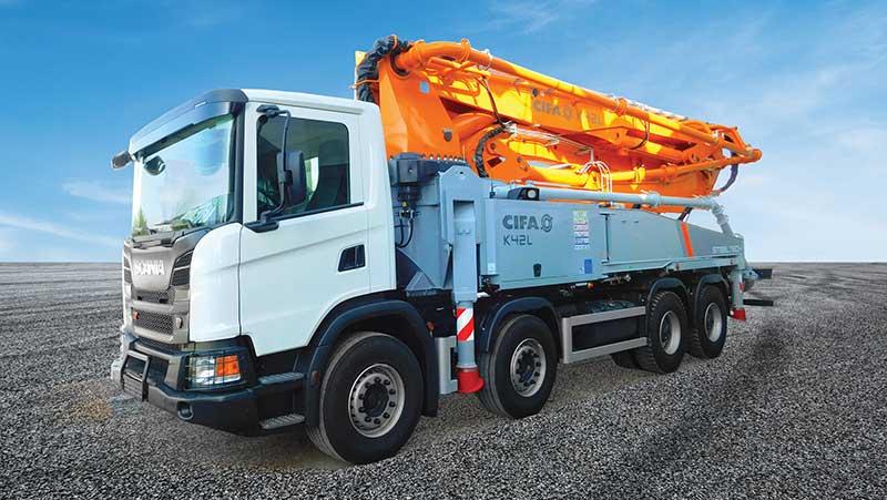 CIFA Concrete Pumps