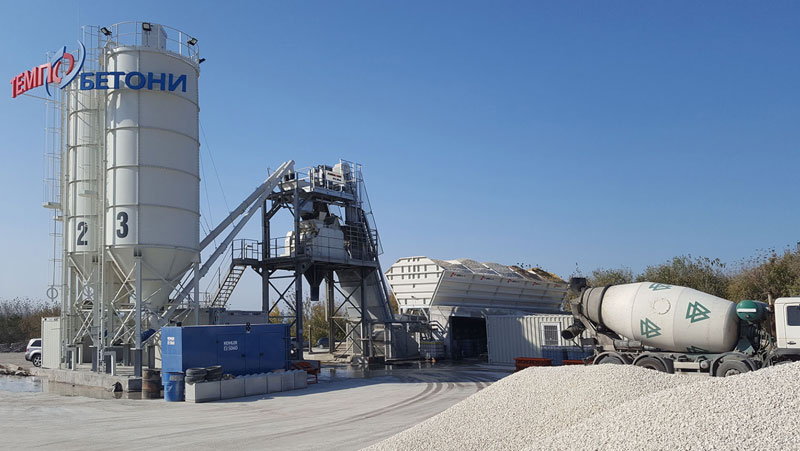 Tempo Trans EOOD Satisfied With Ammann Concrete Mixing Plants