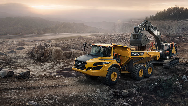 Volvo Articulated Hauler G-Series: Keeping Control of