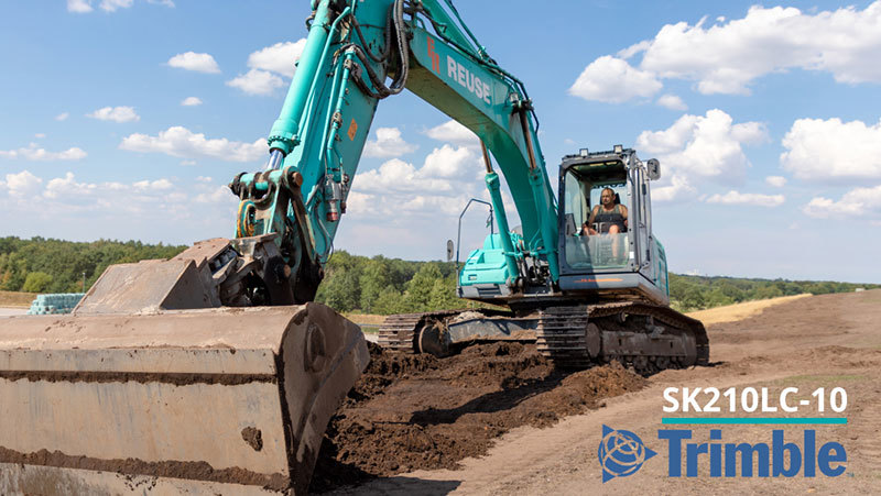 Trimble and Kobelco Announce Factory-Fit Machine Control