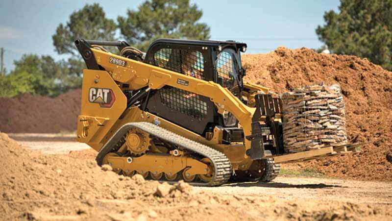 Caterpillar Rolls Out New Cat® D3 Series Skid Steer and