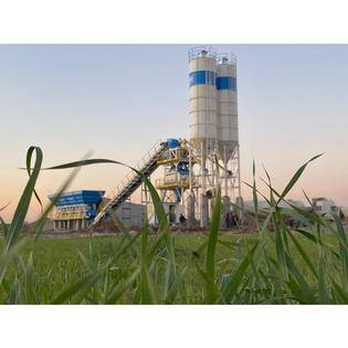 2020-promax-s130-twn-stationary-concrete-batching-plants-with-twin-shaft-mixer-130m-hour-cover-image