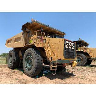 Middle rdt0295 2002 terex tr100 dump truck  botswana