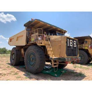 Middle rdt0188 2006 terex tr100 dump truck  botswana