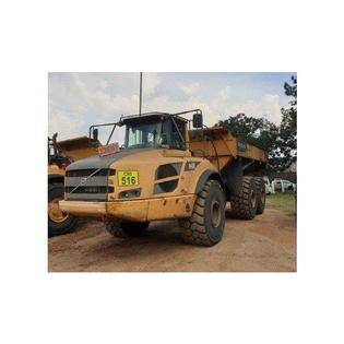 Middle d91 volvo a40f dumper  south africa