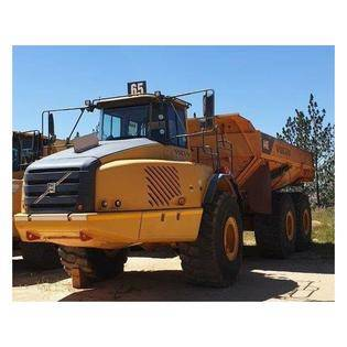 Middle d65 2010 volvo a40e adt  south africa