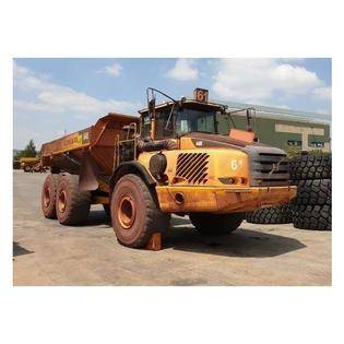 Middle d61 volvo a40e dumper  south africa
