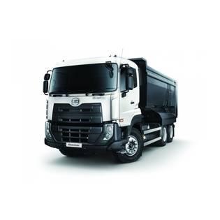 Middle ud trucks quester 6x4 dumper 1