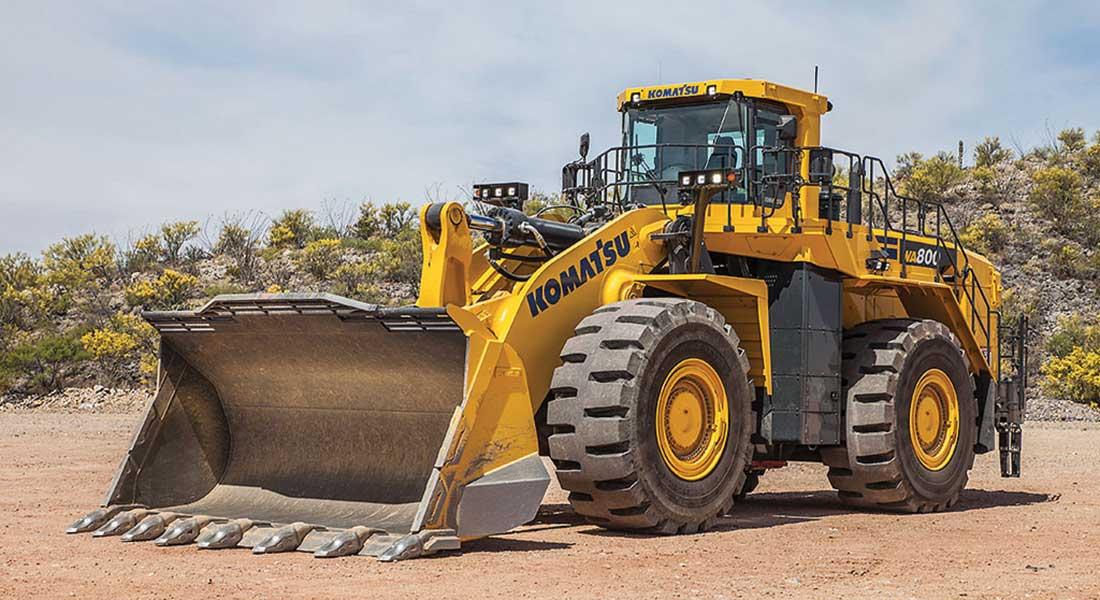 New Komatsu Wa800 8 Wheel Loader Incr...