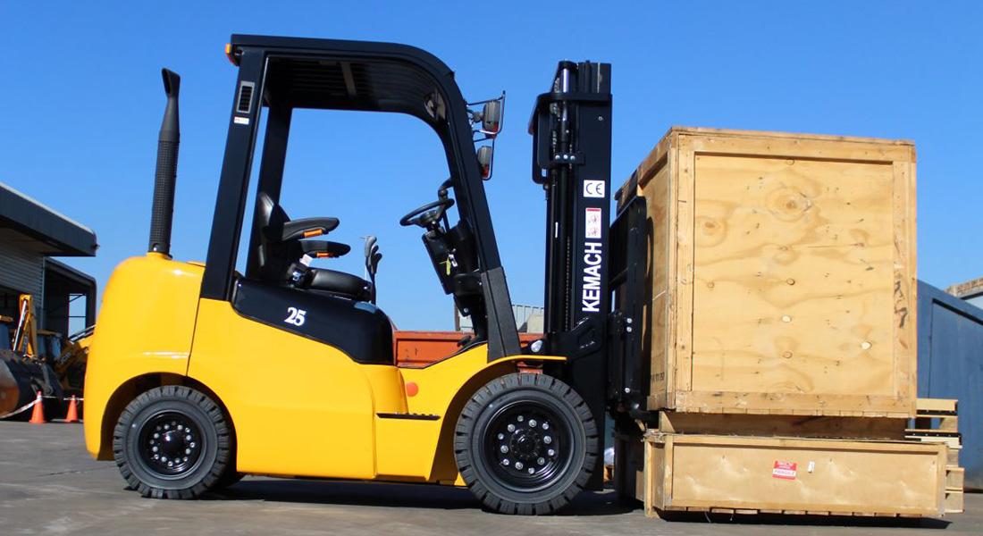 Kemach Unveils New Forklift Range