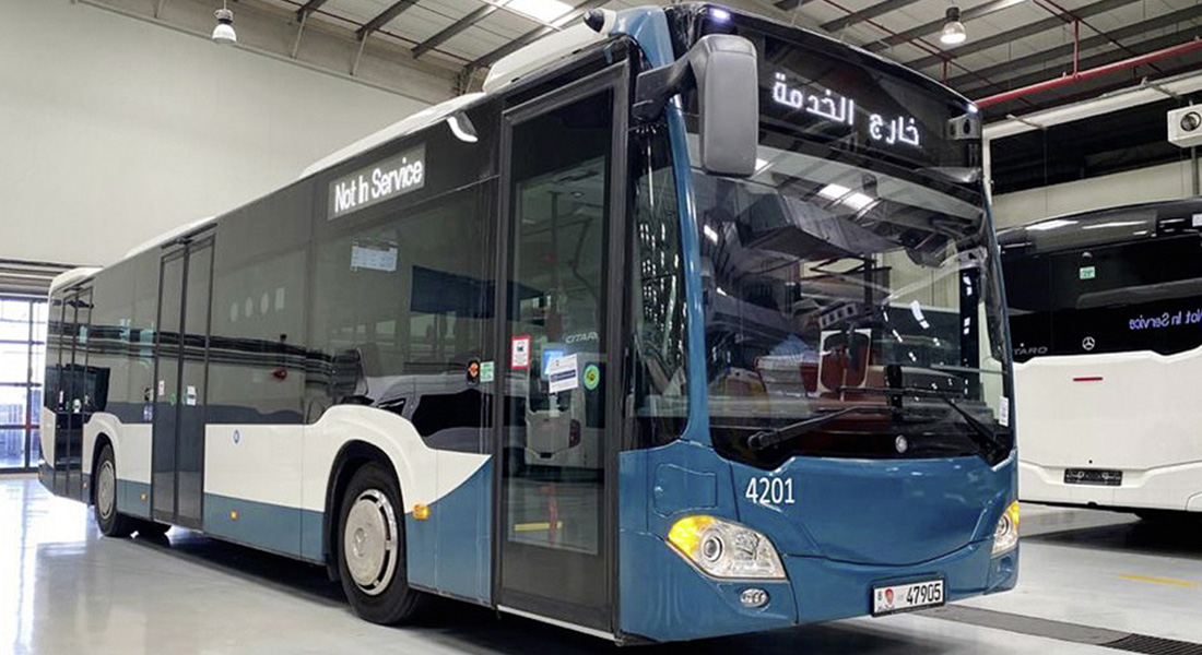 Mercedes-Benz Citaro City Buses to Operate in Abu Dhabi