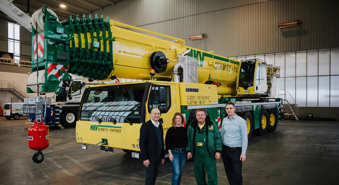 Hkv Schmitz Adds A New Liebherr Ltm 1230 5.1 To Its Fleet