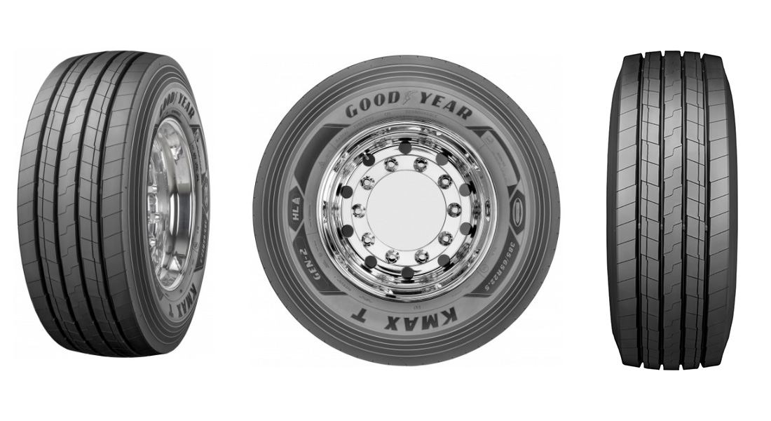 Goodyear extends on-road range with New KMAX T GEN-2 Trailer Tire