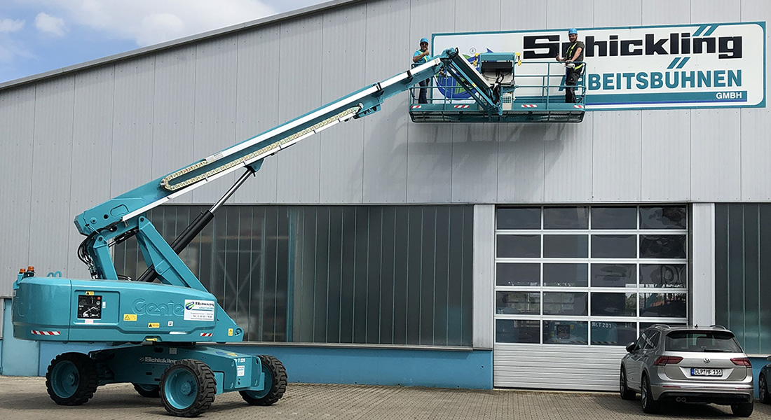 Schickling Rental Receives Delivery Of A Genie® 4 M (13  Ft) Platform