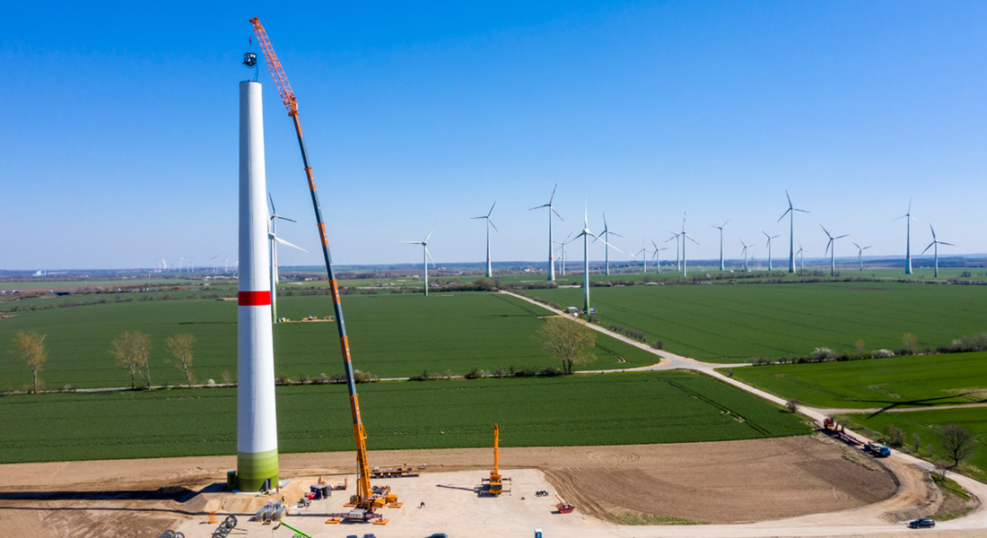 Straight From The Crane Factory To A Job In A Wind Farm