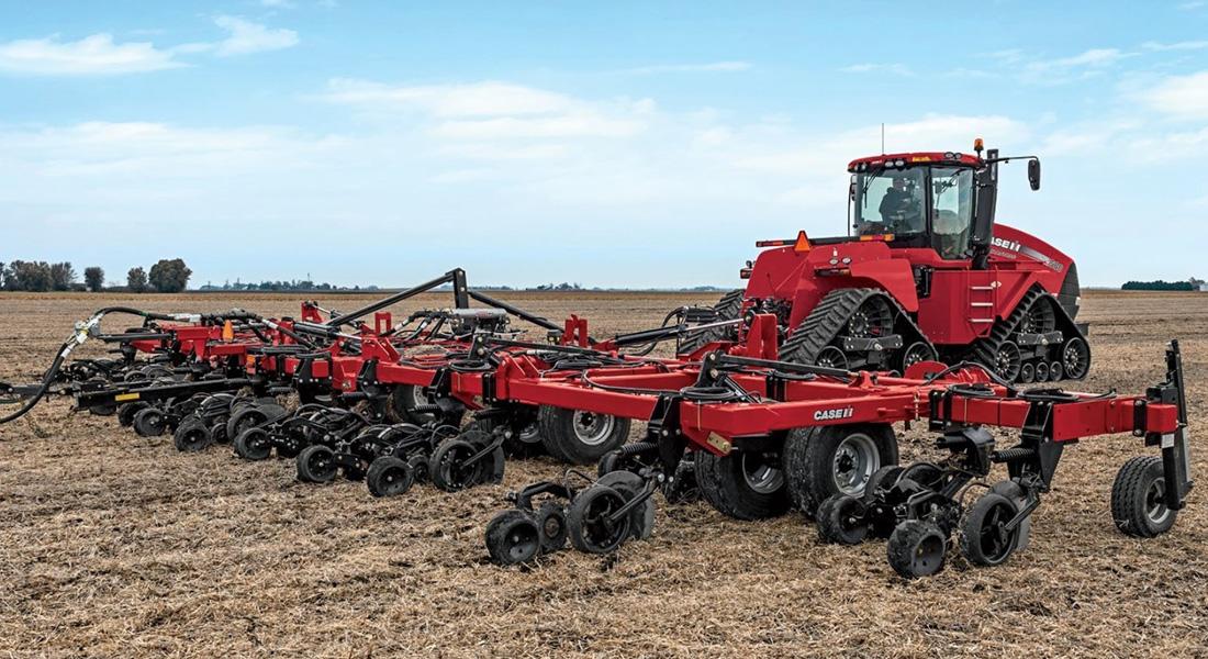 New Case Ih Nutri Placer 930 Advances Fertilizer Application For Russian Farmers