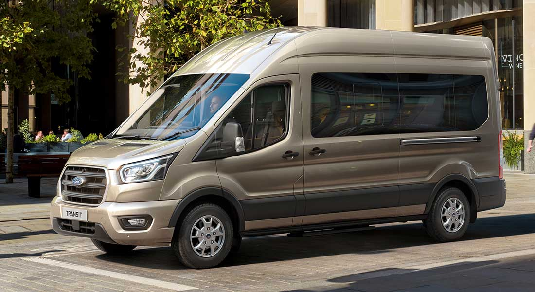 Ford Transit Now Available With Efficient And Durable New 10 Speed Automatic Transmission