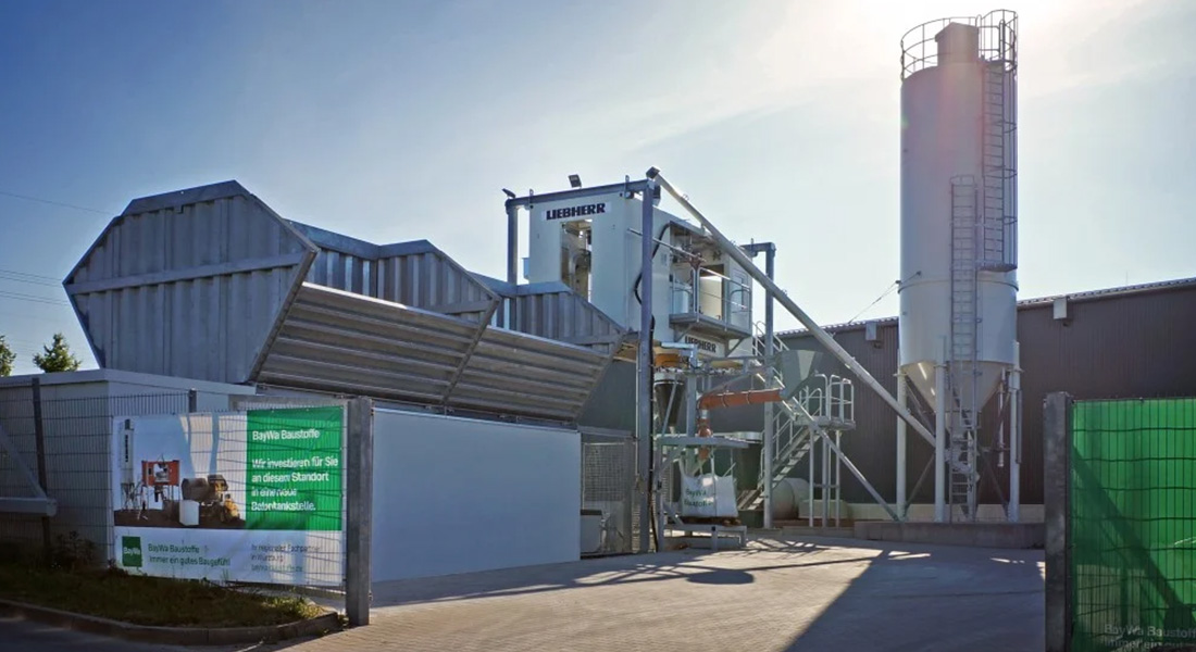Liebherr Is Starting Sales Of The New Self Service Concrete Plant