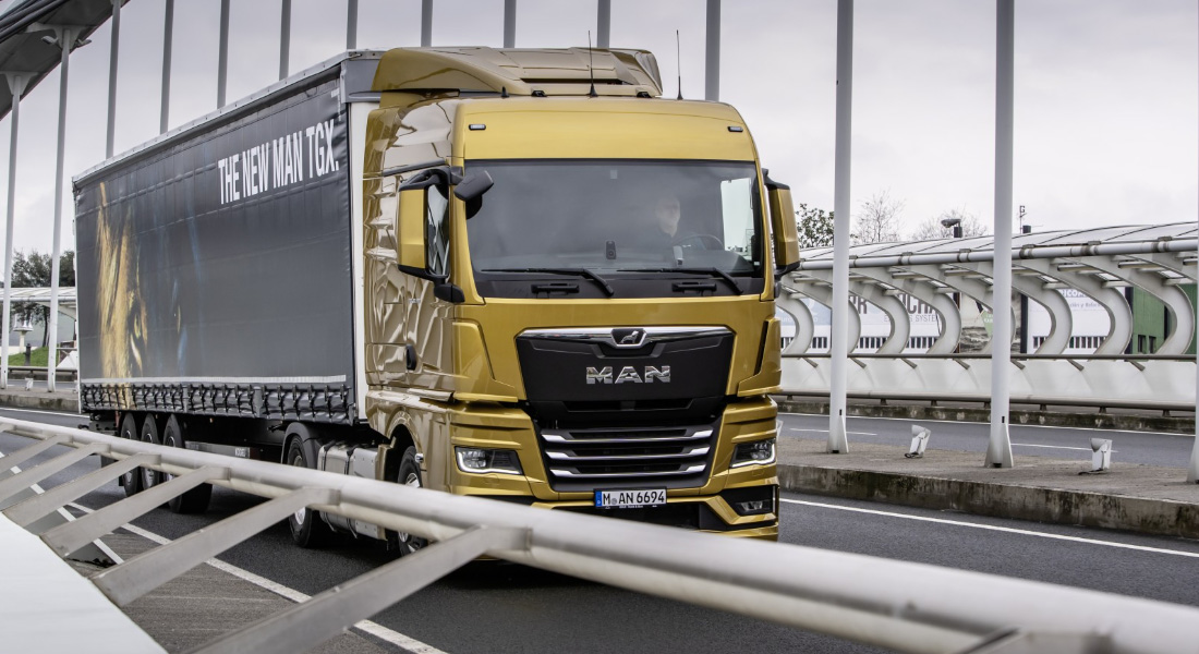 Efficiency confirmed in TÜV test: New MAN Truck Generation saves up to 8.2 % fuel