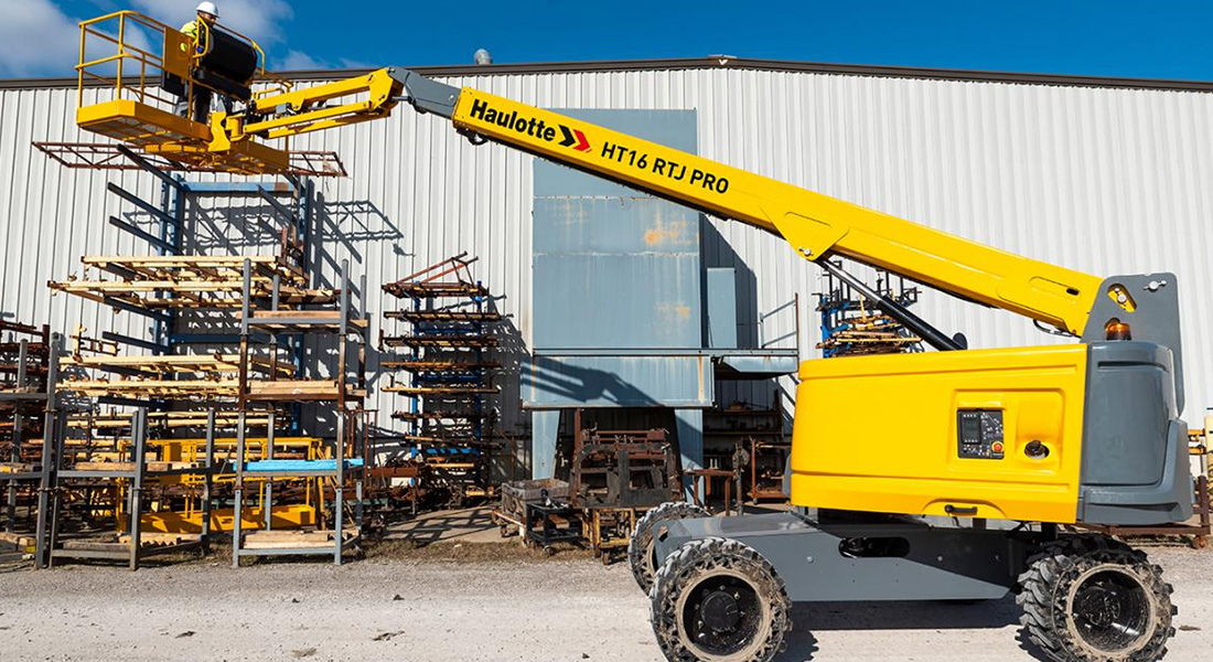 Haulotte Expands Its Successful Rtj Telescopic Range