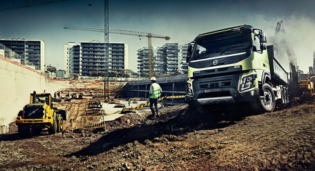 The Volvo Fmx Celebrates 10 Years Of Driving In Harsh Conditions