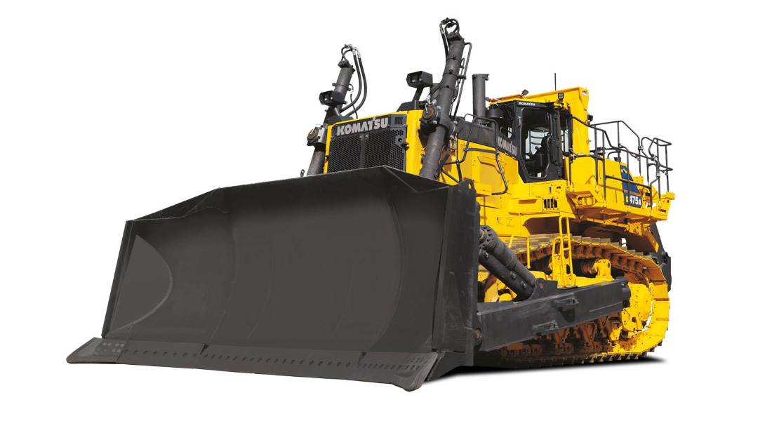 Komatsu Europe Introduces D475 A 8 Dozer