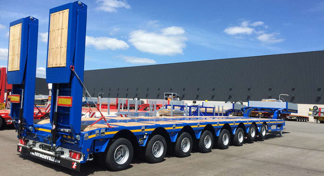 Faymonville Distribution Ag delivers MAX Trailer and low loader to Ghana