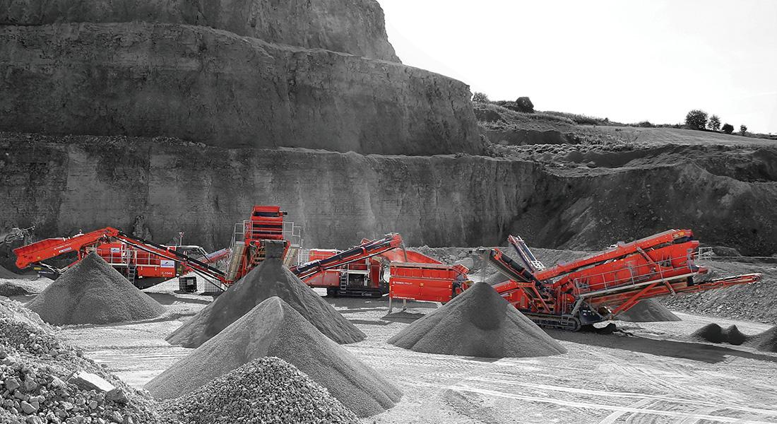 Hybrid Mobile Quarry Plant Proves Its Worth