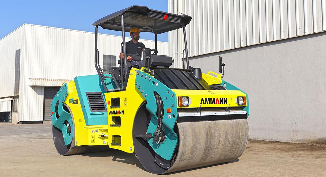 Ammann ARX 91 Articulated Tandem Roller passes a tough test