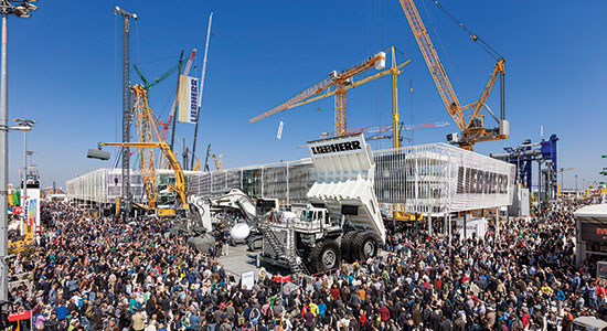 """Together. Now & Tomorrow."": Liebherr..."