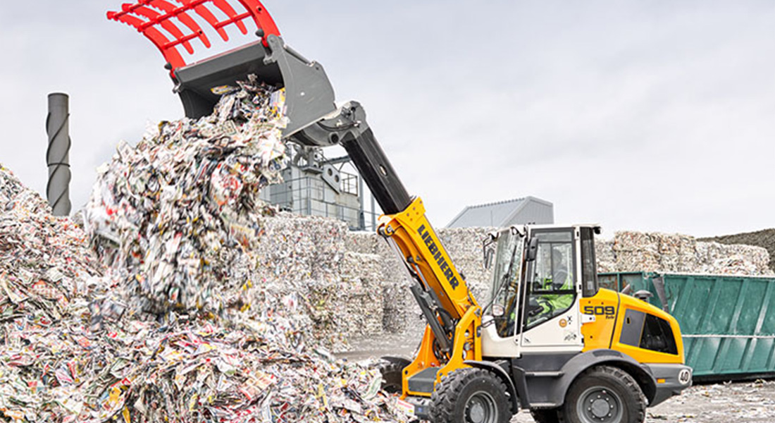 World Premiere: The L 509 Tele Is Liebherr's First Telescopic Wheel Loader