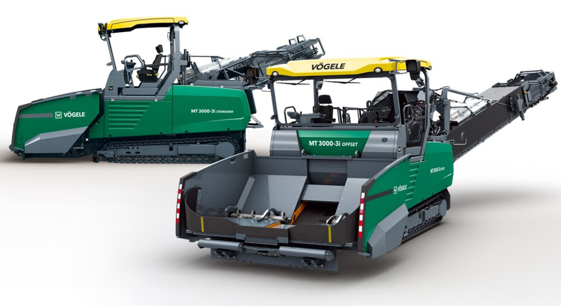 New Generation Of Material Feeders From VÖGELE