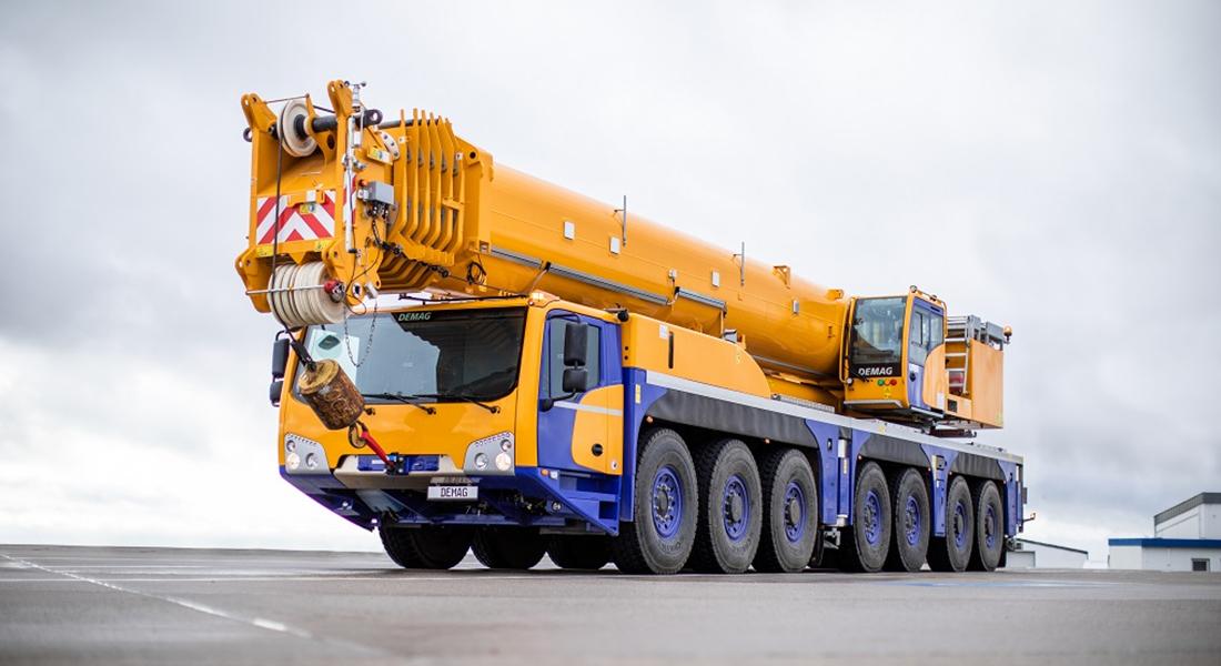 Tadano Demag Introduces The AC 450-7 All Terrain Crane
