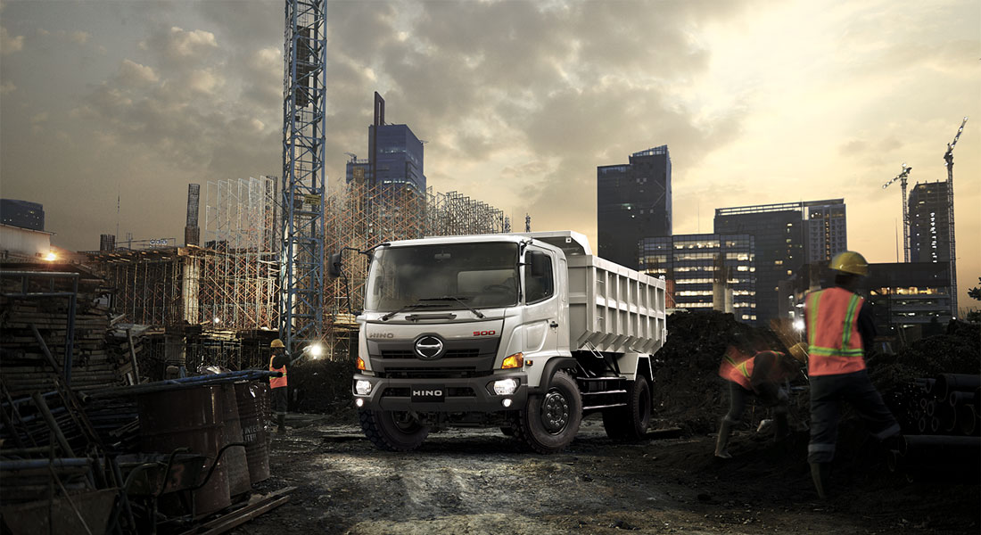 Hino Introduces Automatic Transmission Model To MDT Line-Up